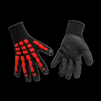 Rękawiczki ochronne anty impact grzbiet lateksowy rozm. 10