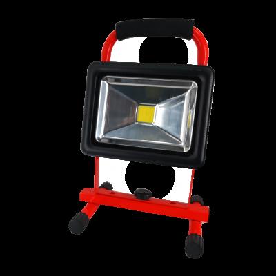 Reflektor LED bezprzewodowy 4400 mah IP54 20 W >40 LM/W