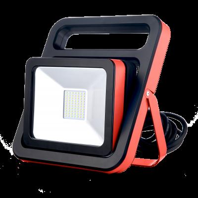 Reflektor LED IP54 30 W 2400 LM z głosnikiem bt i gniazdem 230 V