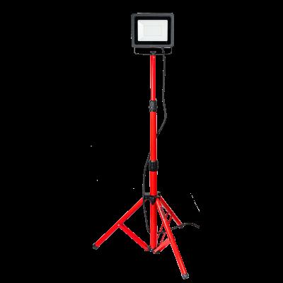 Reflektor LED ze statywem IP65 50 W >80 LM/W