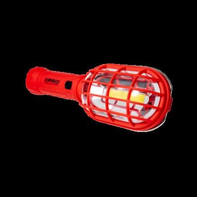 Lampa warszt. LED z akumulatorem i akcesoriami 230 LM +red